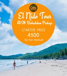 Check our deals for El Nido Packages