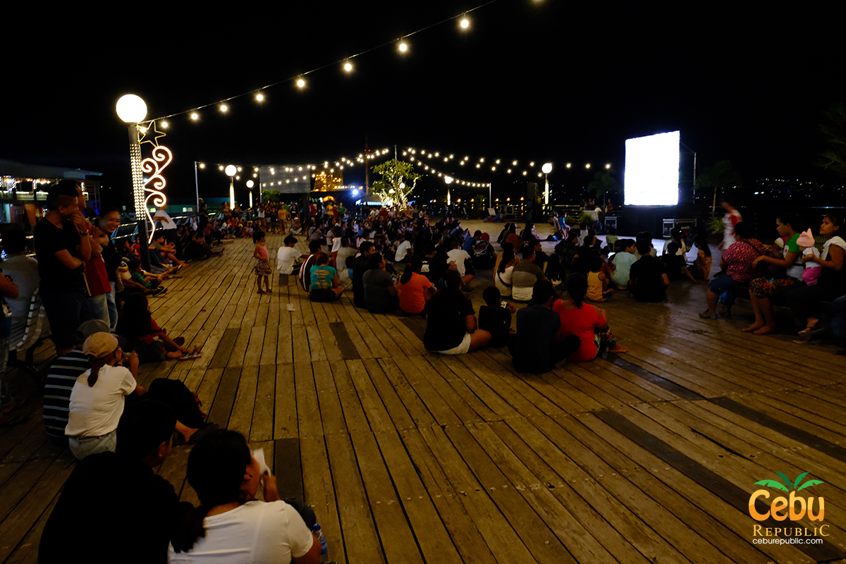 Free Movies at the Park in Naga City Cebu