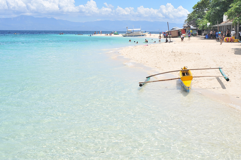 Basdaku White Beach, Moalboal, Cebu