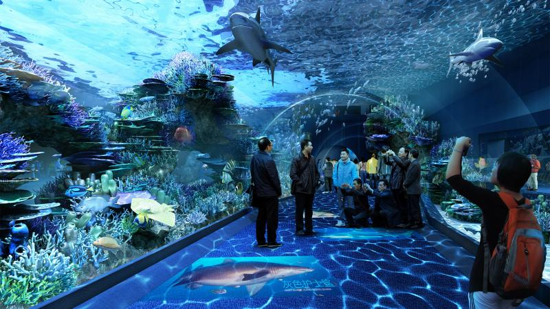 The Cebu Ocean Park - Oceanarium and Convention Area