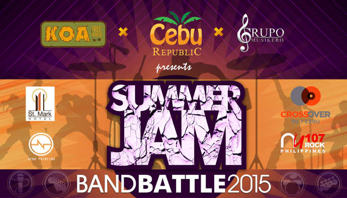 Cebu Republic: Summer_Jam Band_Battle, the Clash in 2015