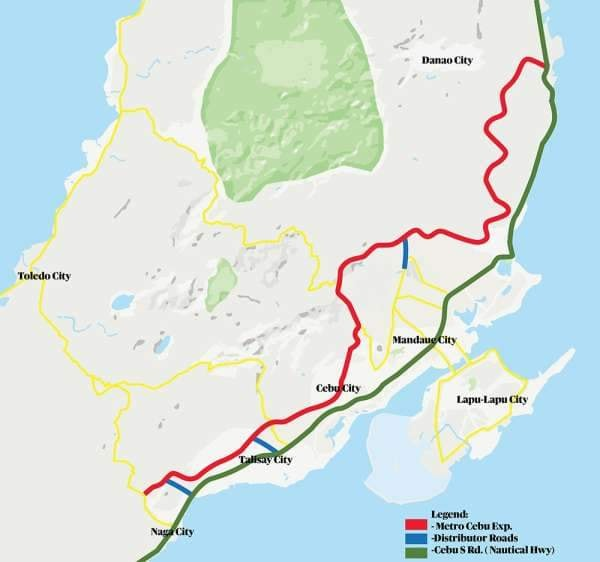 Naga-Danao Cebu Superhighway works underway!