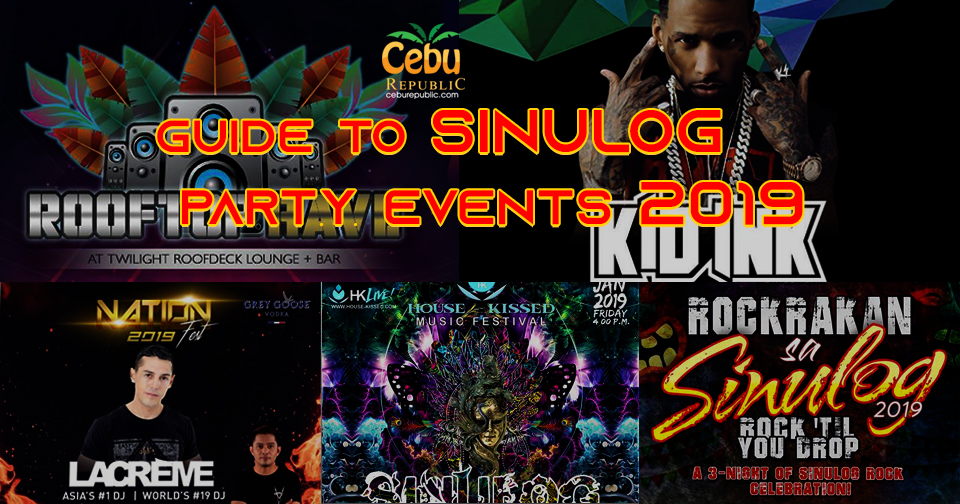 Guide to Cebu Sinulog Party Events 2019