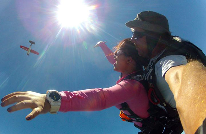 Tandem Skydiving in Cebu