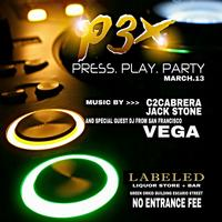 PRESS. PLAY. PARTY!