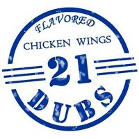 21 Dubs Flavored Chicken Wings